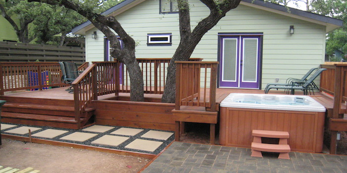 decks and patios in Austin